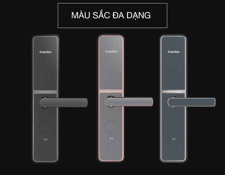 khóa vân tay kaadas V5-1