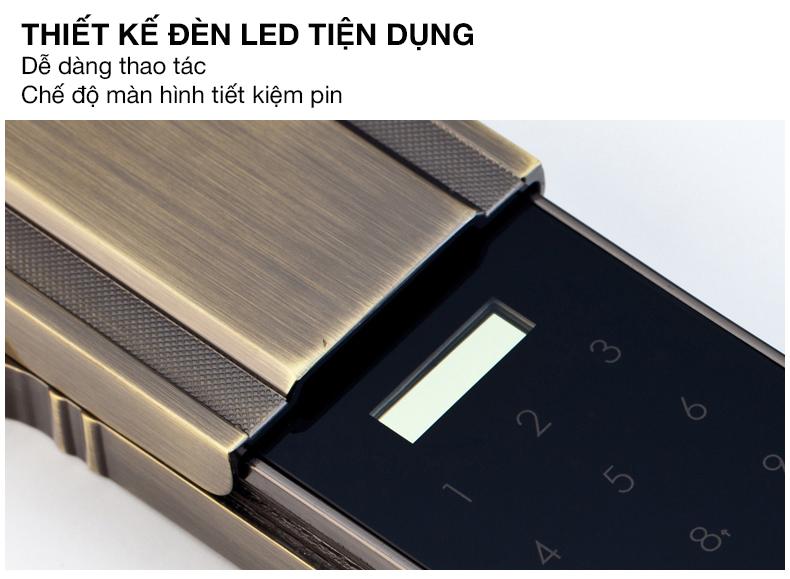 khóa vân tay kaadas 6001 -10