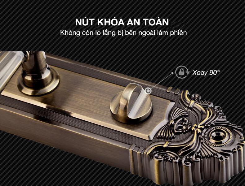 khóa vân tay kaadas 6001 -17