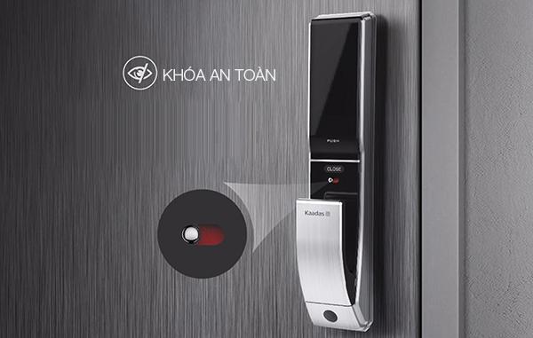 Kaadas K7 có chức năng an toàn cho trẻ em