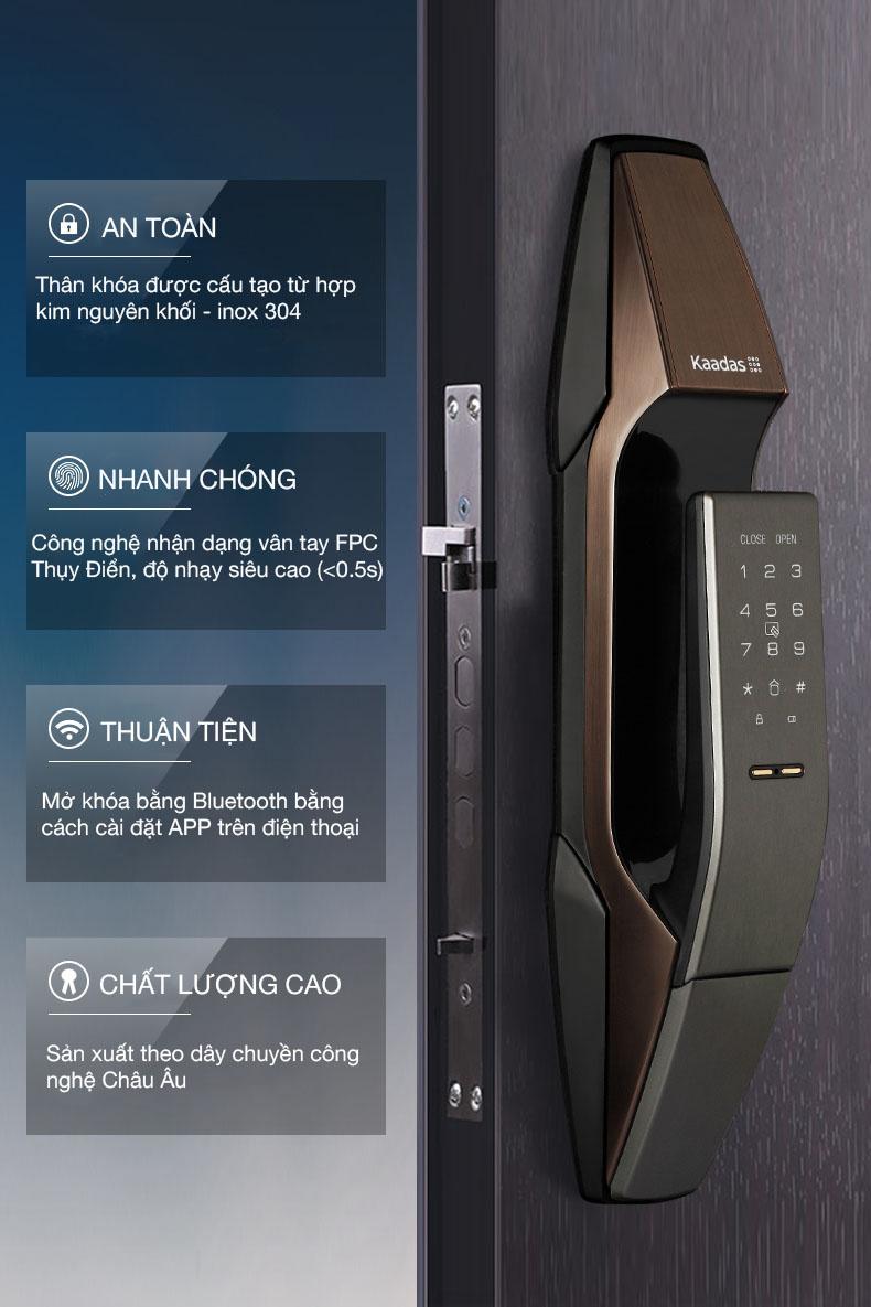 khóa cửa thông minh Kaadas K8-1