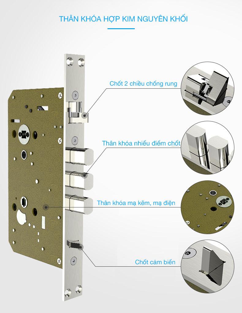khóa cửa thông minh Kaadas K8-2