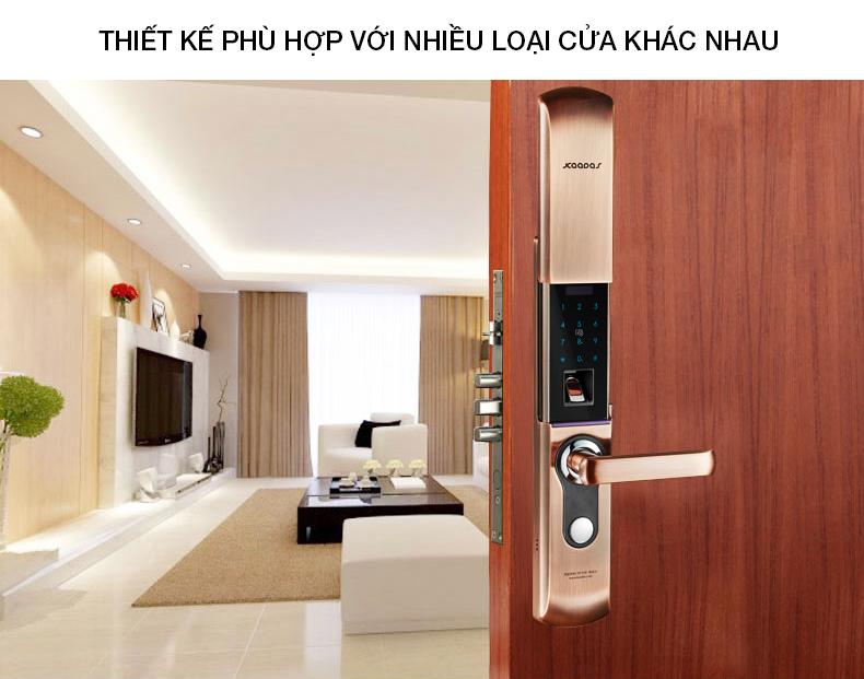 khóa vân tay kaadas 9113 -16