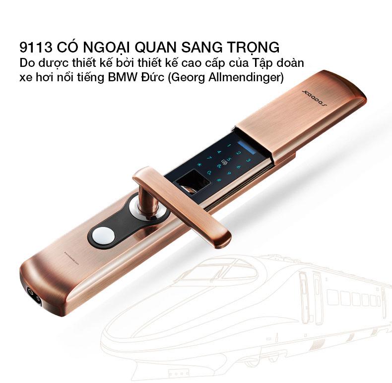 khóa vân tay kaadas 9113 -10