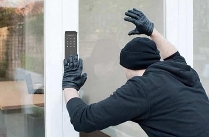 khóa vân tay chống trộm