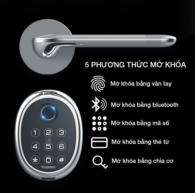 khoá cửa điện tử kaadas M9 -7
