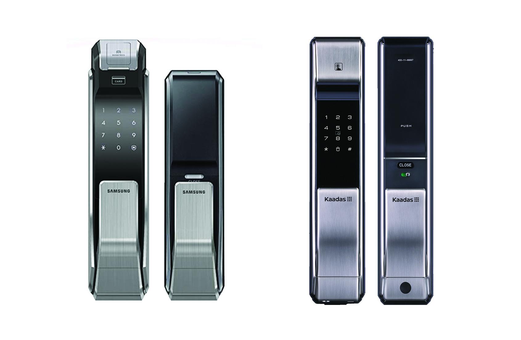 So sánh khóa vân tay Kaadas K7 và Samsung P718