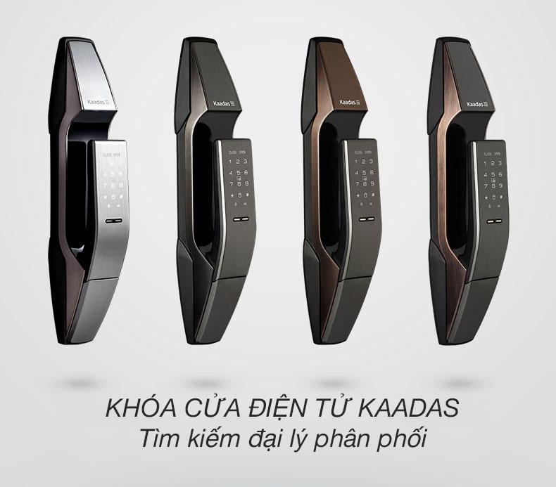 Khóa cửa điện tử Kaadas tìm đại lý phân phối
