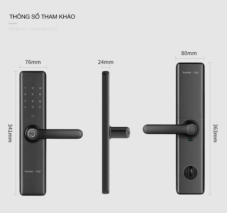 khóa cửa vân tay Kaadas S7 -10