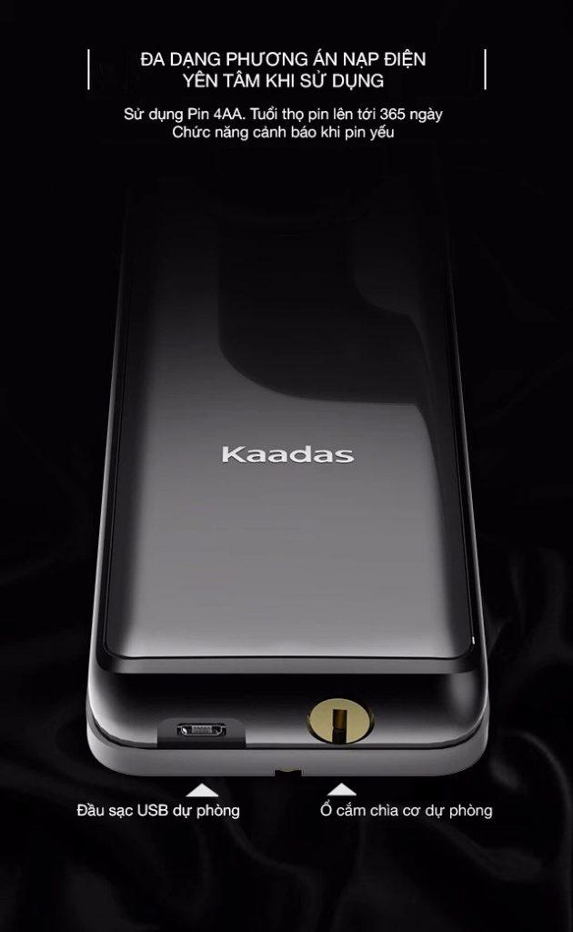 khóa cửa vân tay Kaadas S7 -8