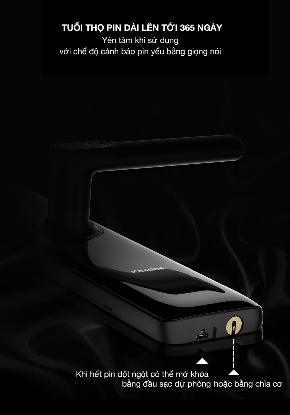 khóa vân tay Kaadas S8 -12