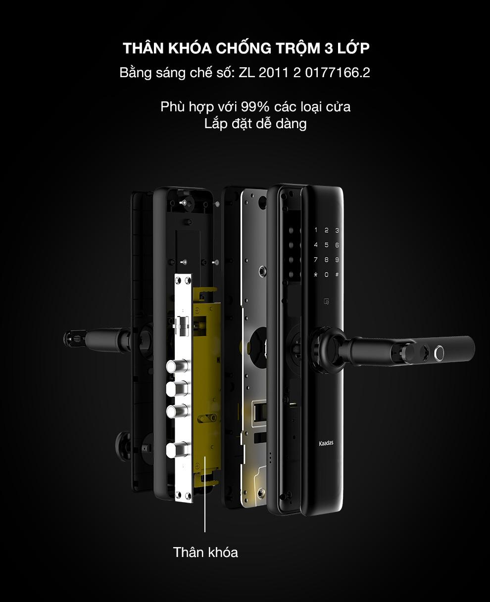 khóa vân tay Kaadas S8 -9