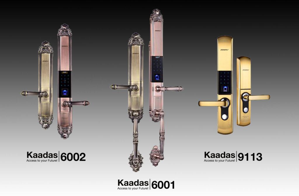 khóa cửa vân tay tân cổ điển Kaadas