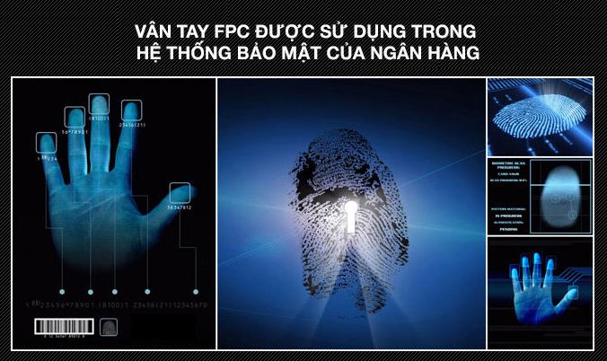 Vân tay FPC - khóa cửa vân tay