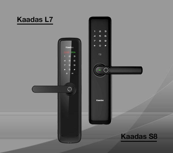 So sánh khóa cửa thông minh Kaadas S8 và Kaadas L7