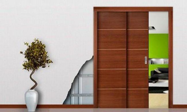 cửa gỗ tối giản